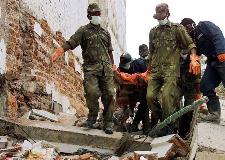 Gujarat earthquake Indian armed forces rescue operation