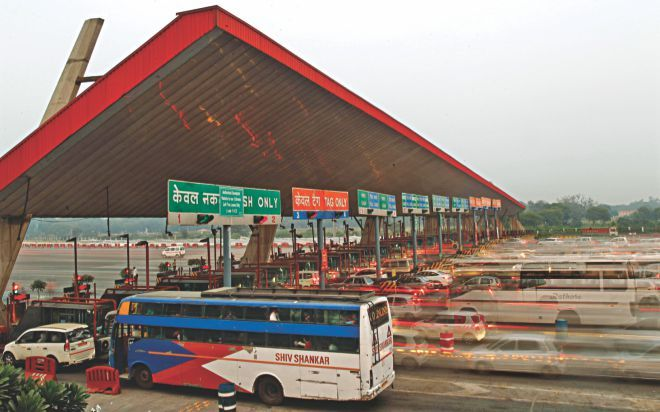Highways toll collection