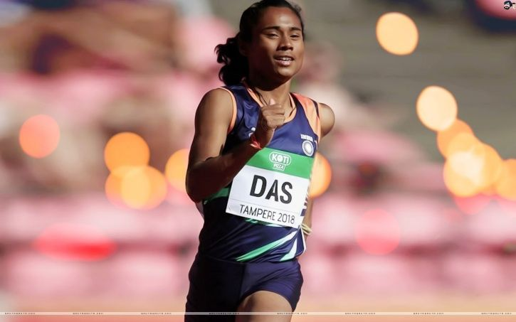 Hima Das returned to form in grand style with a gold in the 200m race at the Poznan Athletics Grand