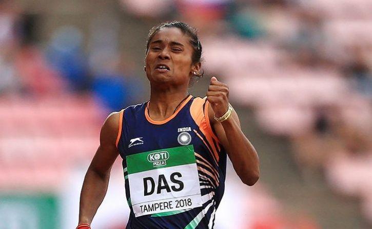 hima das won gold medal