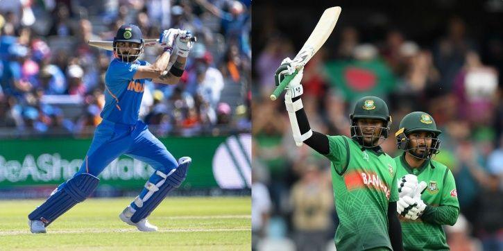 India take on Bangladesh