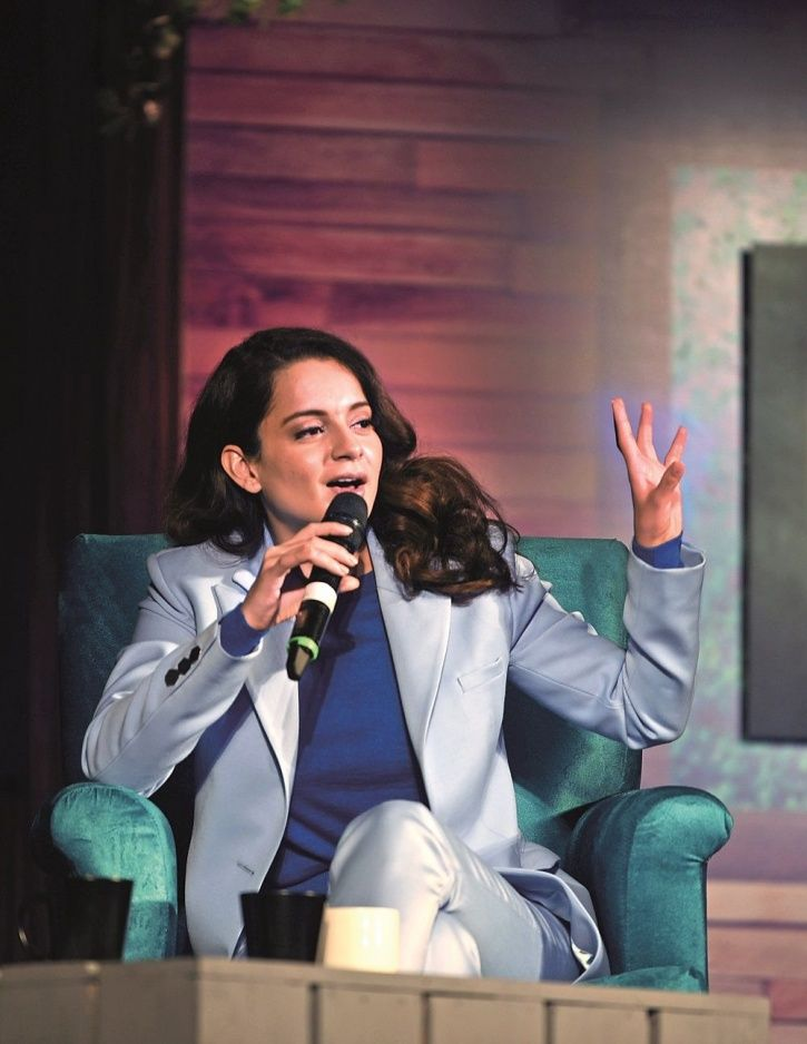 Kangana Ranaut Slams The Industry Again, Says Even If 'We Outsiders Breathe' People Have A Problem