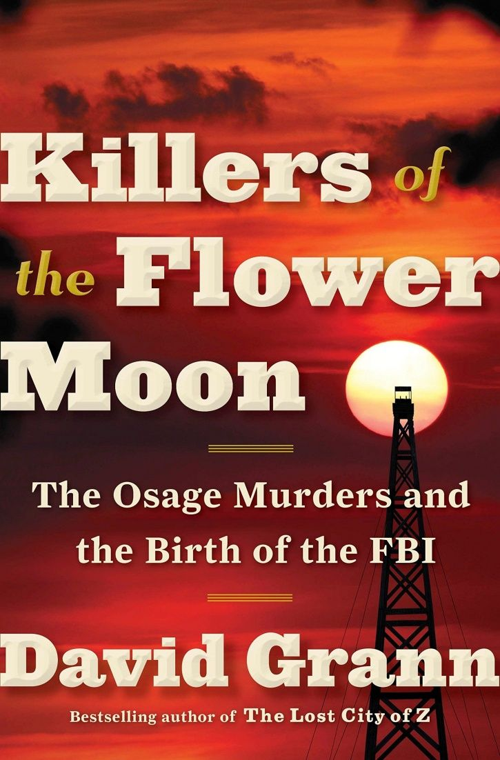 Killers of The Flower Moon book.