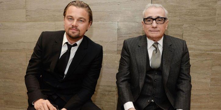 Leonardo DiCaprio and Martin Scorsese.