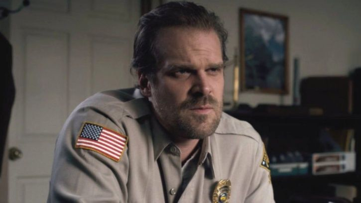 male body shaming: David Harbour trolled.