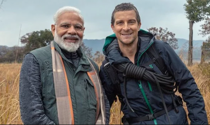 Man VS Wild Modi: Congress Asks Discovery Channel To Specify Shoot Timings of the episode.