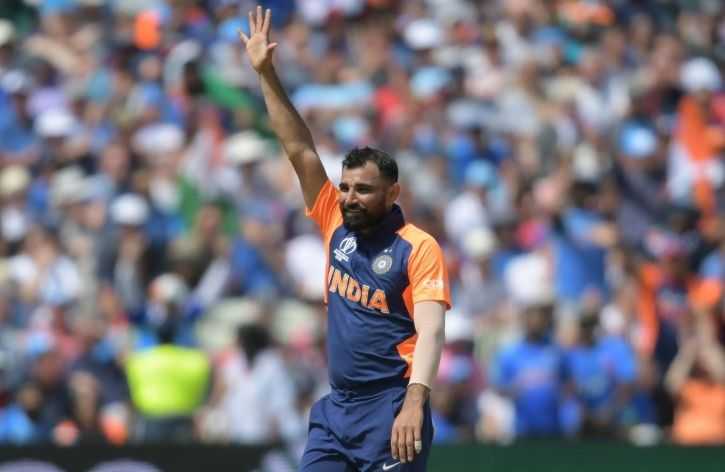 Mohammed Shami has 13 wickets in 3 games