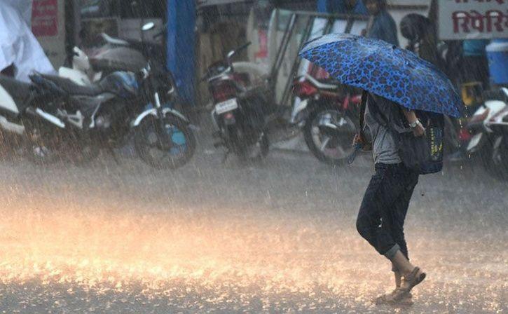 Monsoon rains in bhopal