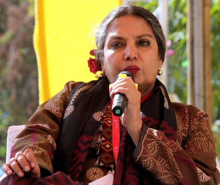 """People who criticise the government are labelled as """"anti-nationalists."""" That's what Shabana Azmi wr"""