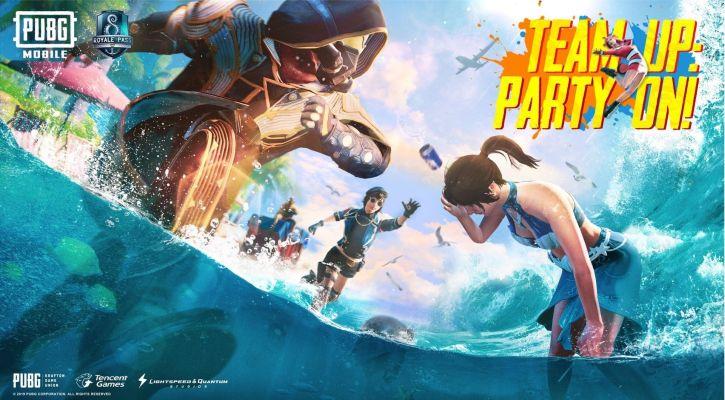 PUBG Ocean Theme