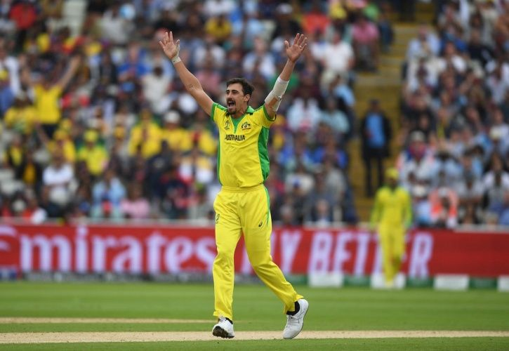 Rohit Sharma and Mitchell starc topped the charts