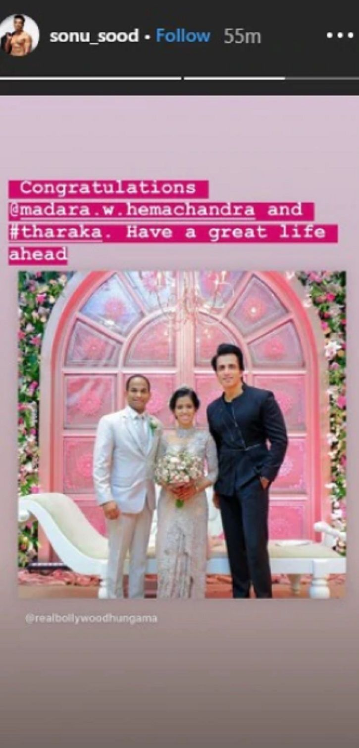 Sonu Sood travels all the way to Sri Lanka to attend a fan