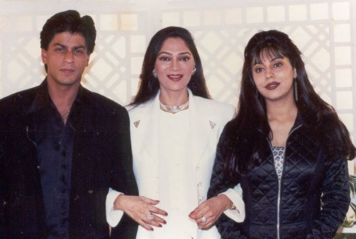 SRK and Gauri on Rendezvous with Simi Garewal.