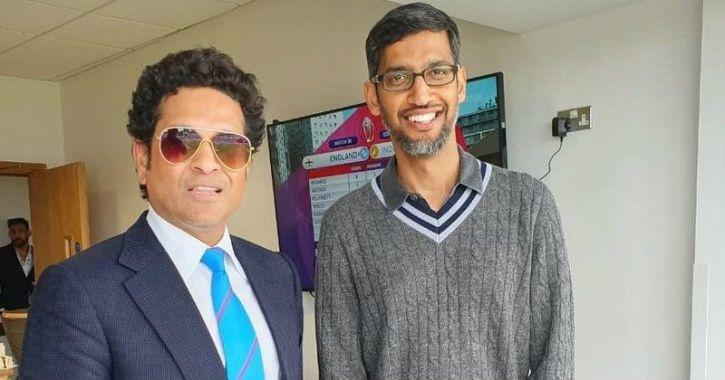 sundar pichai, sundar pichai wimbledon final, sundar pichai cricket world cup final, sundar pichai c