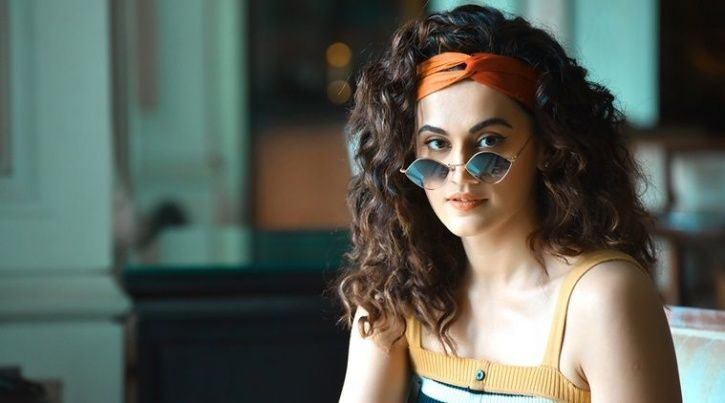 Taapsee Pannu joins NGO to promote menstrual awareness and hygiene.