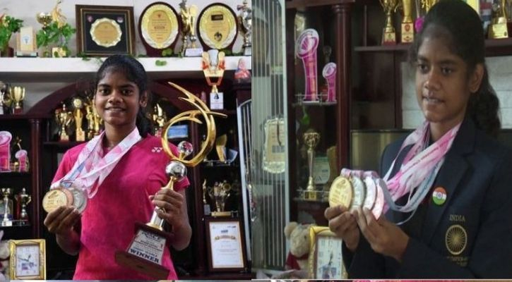 Tamil Nadu Girl wins badminton