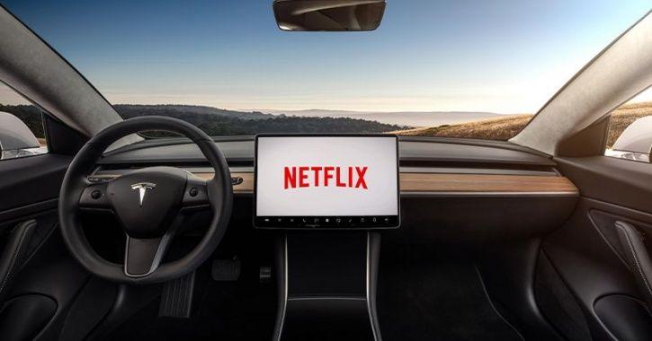 Tesla Netflix, Tesla YouTube, Tesla In Car Netflix, Tesla Entertainment System, Tesla Infotainment S