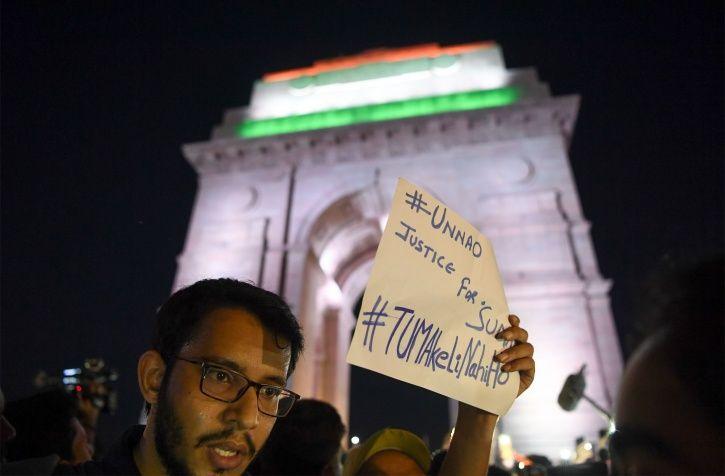 Unnao Rape Protest