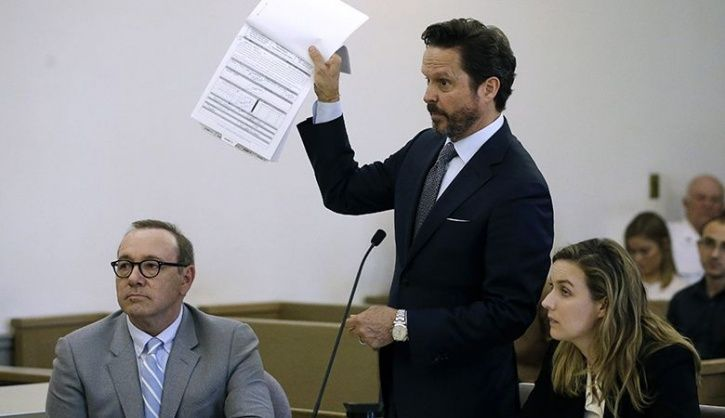 US Accuser Drops Civil Suit Against Kevin Spacey