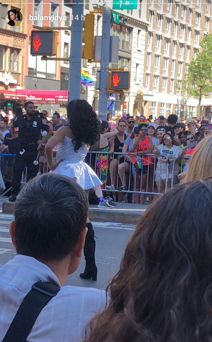 Vidya Balan Participates In Pride Parade In New York, Smiles Gleefully In Pics With Family