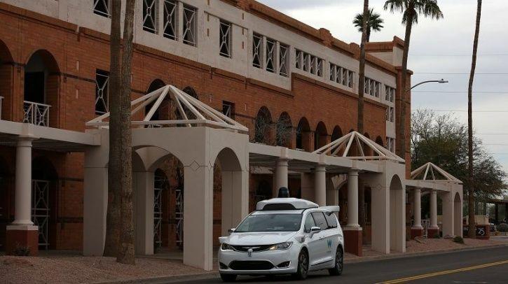 Waymo Autonomous Cabs, Waymo Self Driving Ride Sharing, Google Waymo, Self Driving Vehicle Technolog