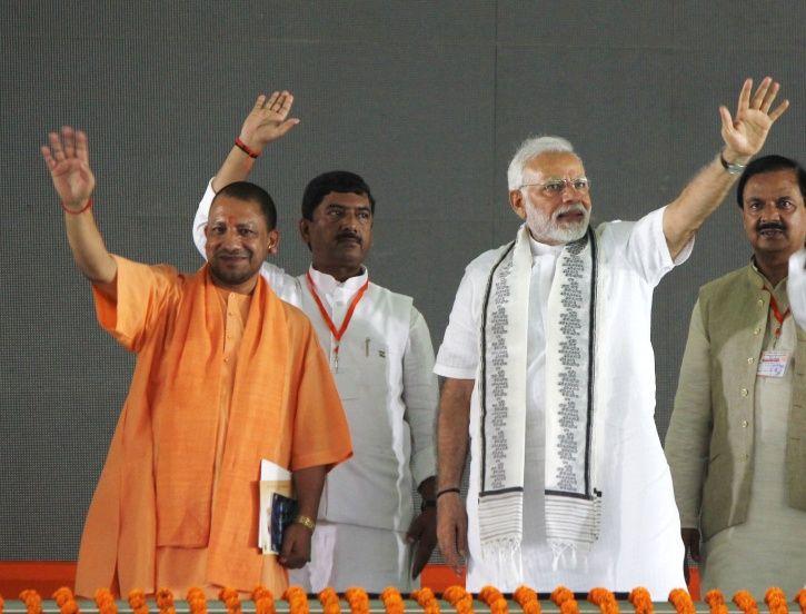 Yogi Adityanath Narendra Modi