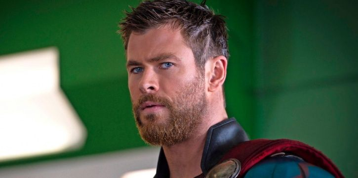 A picture of Chris Hemsworth from Thor 4.