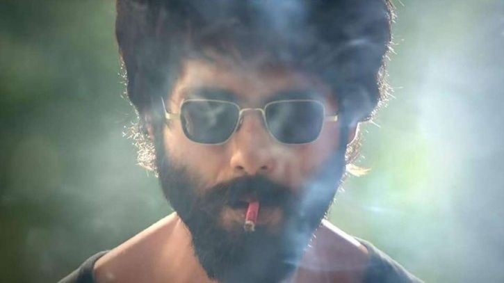 A picture of Shahid Kapoor from his recently released controversial movie Kabir Singh.