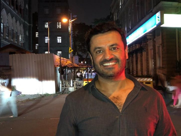 A picture of Vikas Bahl, the director of Hrithik Roshan starrer Super 30.