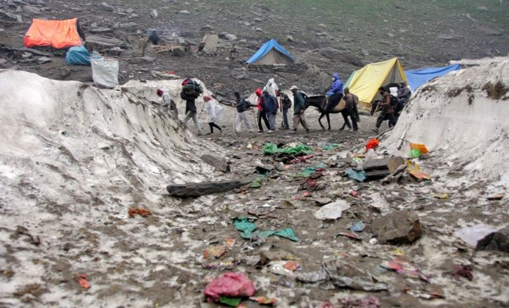 As Amarnath Trek Route Reels Under Garbage Crisis, CRPF To Raise Awareness About Environment