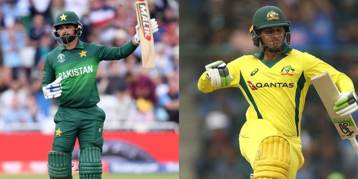 Australia and Pakistan are playing in the World Cup