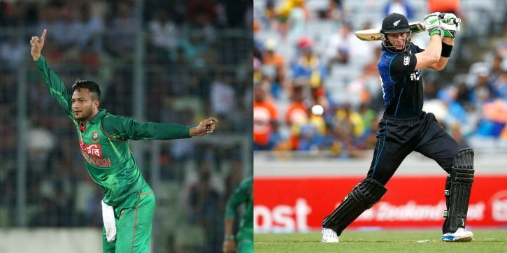 Bangladesh and New Zealand are on a high