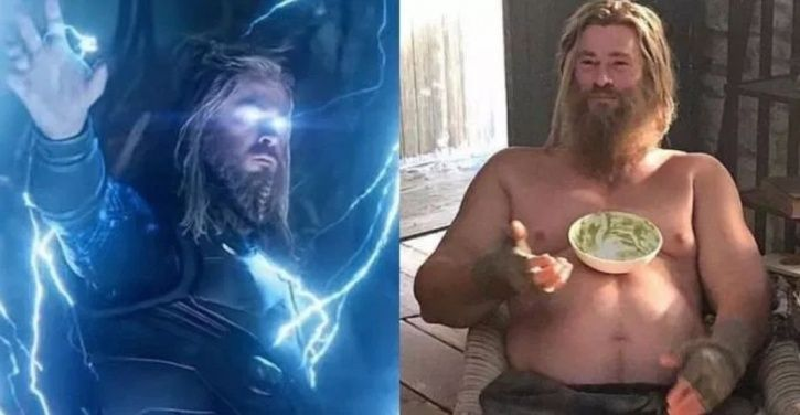 Belly Rubs From Robert Downey Jr & Lots Of Cuddles – That's What Chris Misses About Fat Thor
