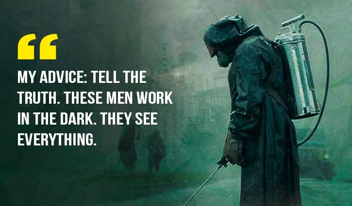 Chernobyl quotes that make it the greatest TV show of all times.