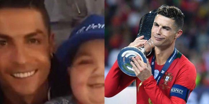 Cristiano Ronaldo has a big heart