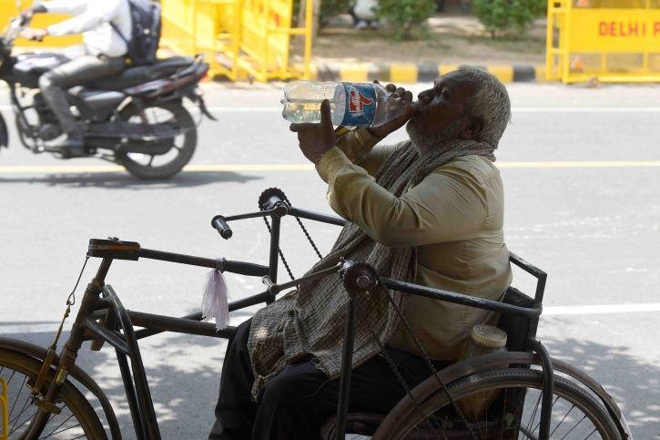 Delhi heat!