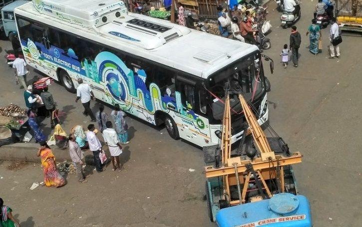 Electric Bus India, E buses Srinagar, Tata Motors, Tata Electric Bus, Jammu and Kashmir E-Buses, Ele