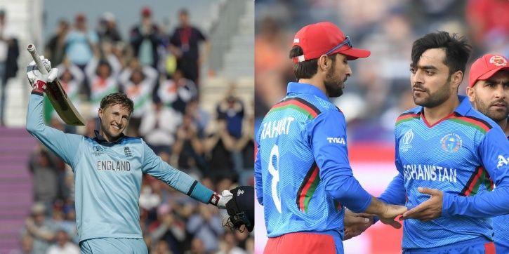 England take on Afghanistan