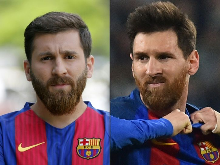 He looks just like Lionel Messi