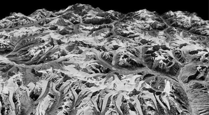 Himalayas glaciers