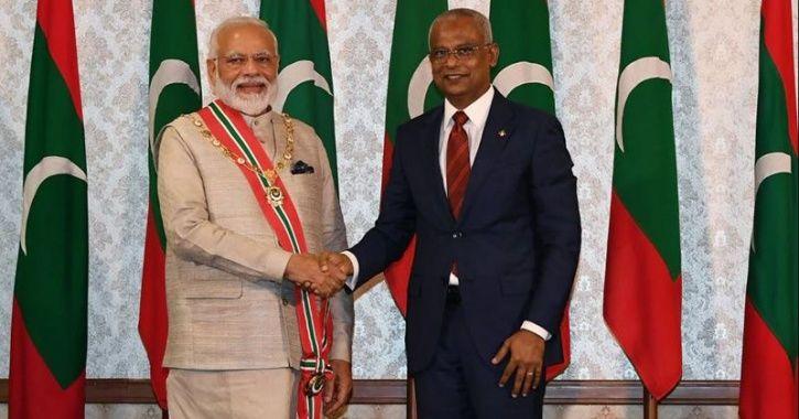 India and maldives
