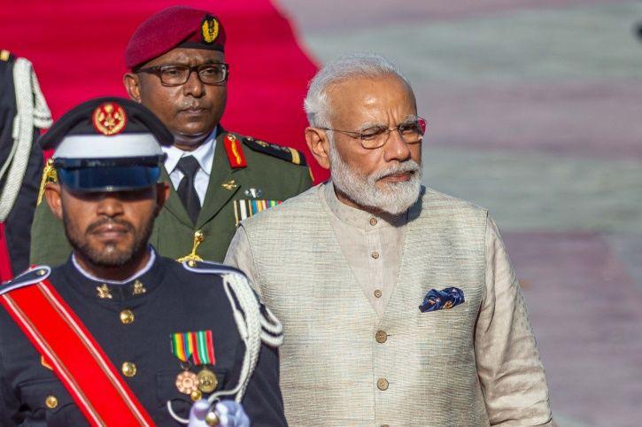 India and maldives PM Modi