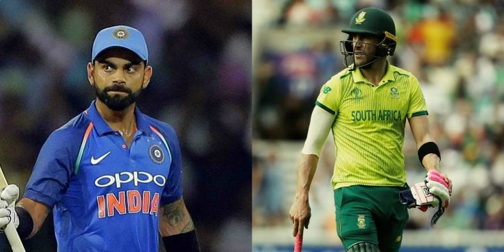 India have beaten South Africa once in World Cups