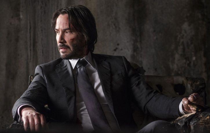 John Wick star Keanu Reeves.