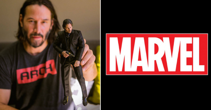 John Wick star Keanu Reeves to be cast in Marvel film The Eternals.
