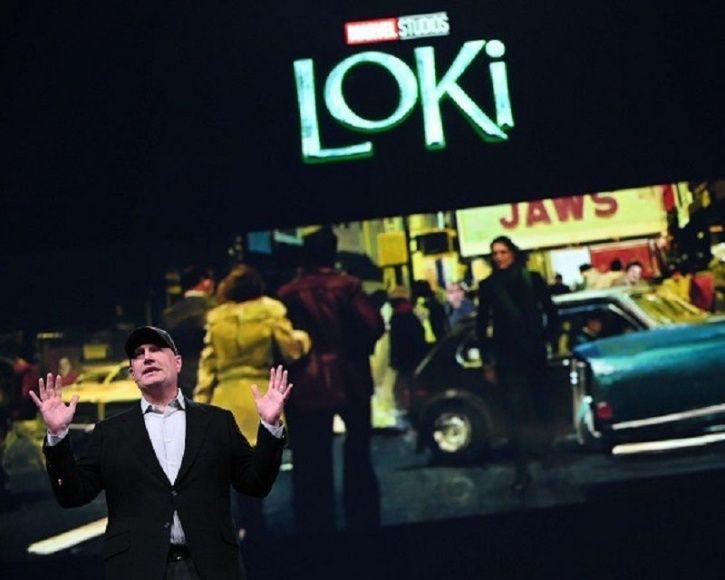 Loki TV series first look.