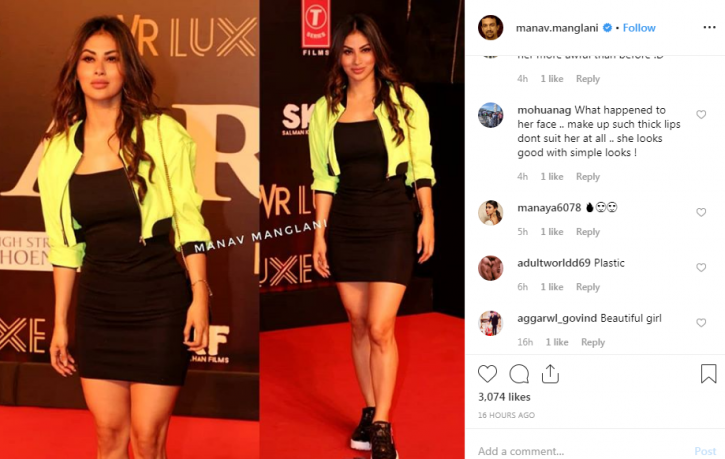 Mouni Roy gets trolled for looking plastic, gets called Rakhi Sawant.