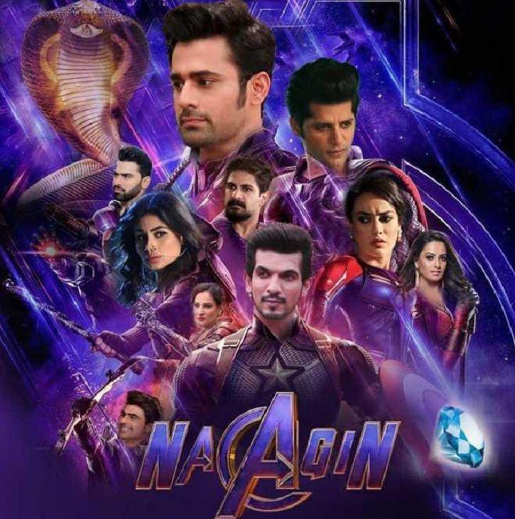 Naagin poster inspired by Avengers Endgame.