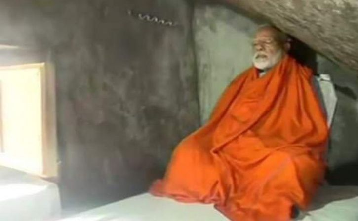 narendra modi cave meditation