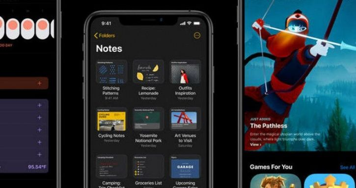 notes app ios 13